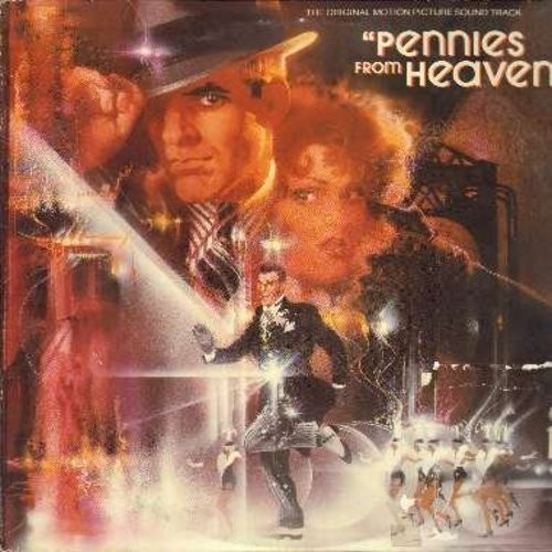 Pennies From Heaven - Pennies From Heaven - Original Motion Picture Sound Track, 2 vinyl STEREO LP record set, gate-fold cover, counts as 2 LPs) - EX8/VG7 - LP Records