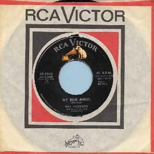 Peterson, Ray - My Blue Angel/I'm Tired (with original company sleeve) - EX8/ - 45 rpm Records