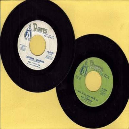 Peterson, Ray - 2 for 1 Special: Corinna, Corinna/Why Don't You Write Me  (2 vintage first issue 45rpm records for the price of 1!) - EX8/ - 45 rpm Records