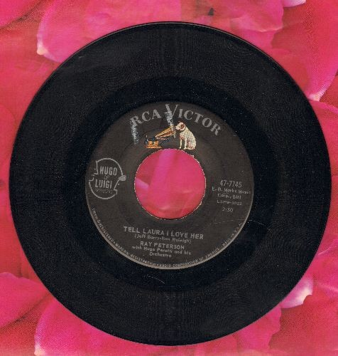 Peterson, Ray - Tell Laura I Love Her/Wedding Day - NM9/ - 45 rpm Records