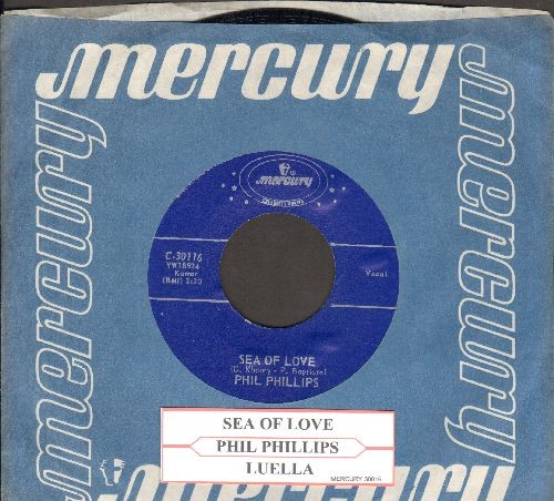 Phillips, Phil - Sea Of Love (Come With Me To The Sea)/Juella (authentic-looking re-issue with Mercury company sleeve and juke box label) - NM9/ - 45 rpm Records