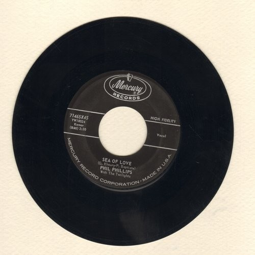 Phillips, Phil - Sea Of Love (Come With Me To The Sea)/Juella - VG7/ - 45 rpm Records
