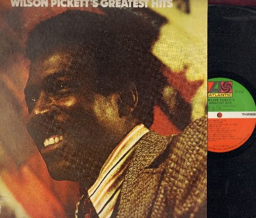 Pickett, Wilson - Greatest Hits: In The Midnight Hour, Mustang Sally, Land Of 1000 Dances, Sugar Sugar, Hey Jude, You Keep Me Hangin' On (2 vinyl LP records, gate-fold cover) - NM9/EX8 - LP Records