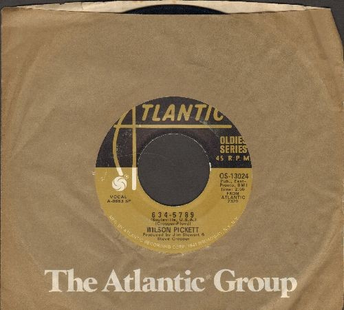 Pickett, Wilson - 634-5789/In The Midnight Hour (double-hit re-issue with Atlantic company sleeve) - EX8/ - 45 rpm Records