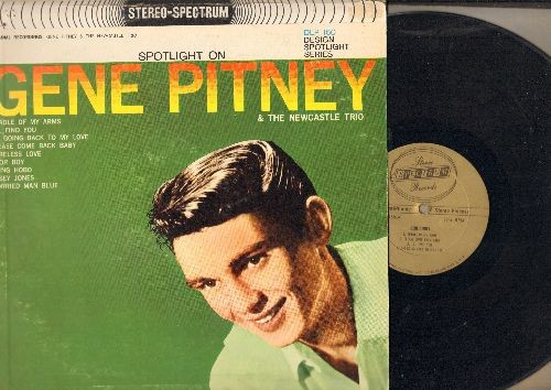 Pitney, Gene - Spotlight On Gene Pitney (& The Newcastle Trio): I'll Find You, Casey Jones, Cradle Of My Arms, Please Come Back Baby (Vinyl MONO LP record, 1962 first issue) - EX8/VG7 - LP Records