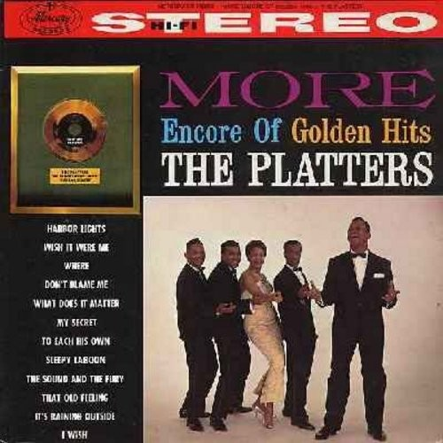 Platters - More Encore Of Golden Hits: Harbor Lights, That Old Feeling, Sleepy Lagoon, My Secret, Wish It Were Me, The Sound And The Fury (Vinyl STEREO LP record, 1970s issue, NICE condition!) - NM9/EX8 - LP Records