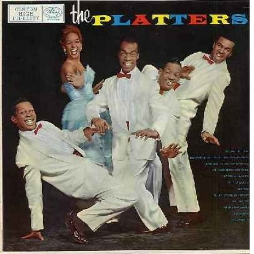 Platters - The Platters: Glory Of Love, Bewitched, Heaven On Earth, My Prayer, Remember When, I'm Sorry (Vinyl MONO LP record, black label first issue) - VG7/VG7 - LP Records