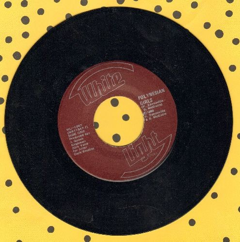 Yano, Kirk - Polynesian Girls/Go For The Money - NM9/ - 45 rpm Records