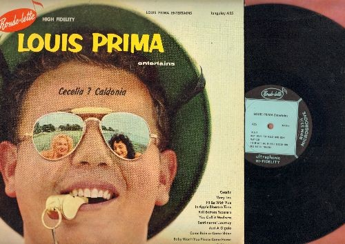 Prima, Louis - Cecelia? Caldonia: Mary Lou, Bell Bottom Trousers, You Call It Madness, Sentimental Journey, Just A Gigolo, Come Rain Or Come Shine (vinyl MONO LP record) - VG7/EX8 - LP Records