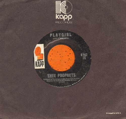 Prophets - Playgirl/Patricia Ann (with Kapp company sleeve) - EX8/ - 45 rpm Records