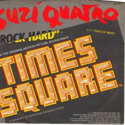 Quatro, Suzi - Rock Hard/State Of Mind (with picture sleeve) - M10/NM9 - 45 rpm Records