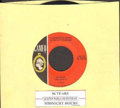 Question Mark & The Mysterians - 96 Tears/Midnight Hour (with juke box label)  - VG7/ - 45 rpm Records