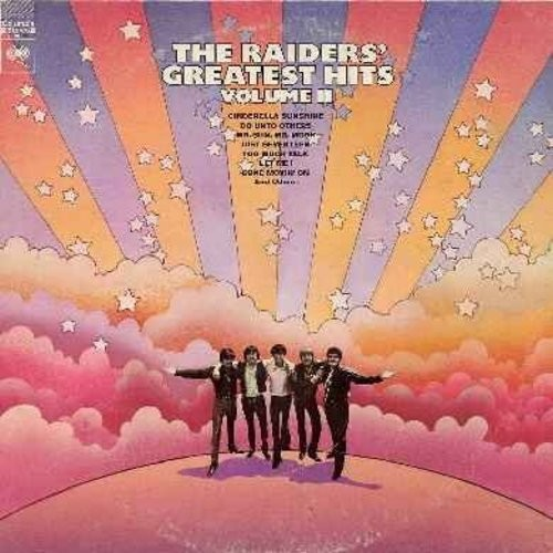 Raiders - The Raiders' Greatest Hits Volume II: Cinderella Sunshine, Do Unto Others, Too Much Talk, Just Seventeen, I Had A Dream (Vinyl LP record) - NM9/VG7 - LP Records