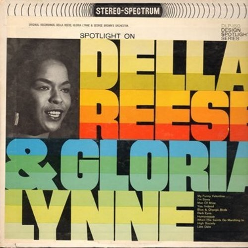 Reese, Della, Gloria Lynne - Della Reese & Gloria Lynne: My Funny Valentine, I'm Sorry, High Society, Horoesque (Vinyl STEREO LP record) - EX8/EX8 - LP Records