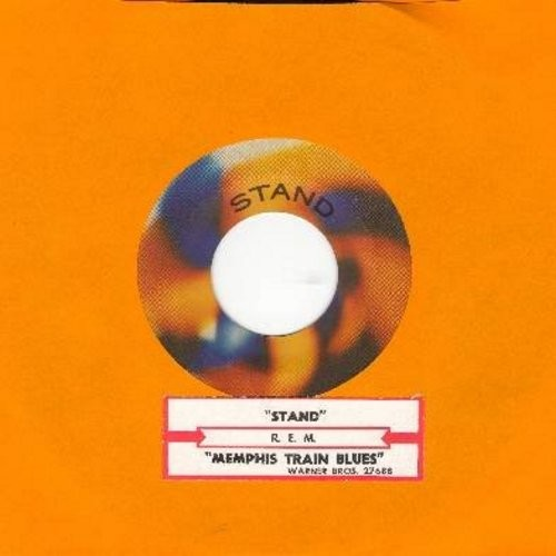 R.E.M. - Stand!/Memphis Train Blues - NM9/ - 45 rpm Records