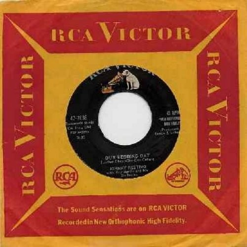 Restivo, Johnny - Our Wedding Day/Come Closer (with vintage RCA company sleeve) - EX8/ - 45 rpm Records