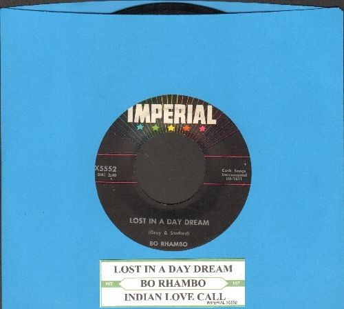 Rhambo, Bo - Indian Love Call/Lost In Day Dream (with juke box label) - NM9/ - 45 rpm Records