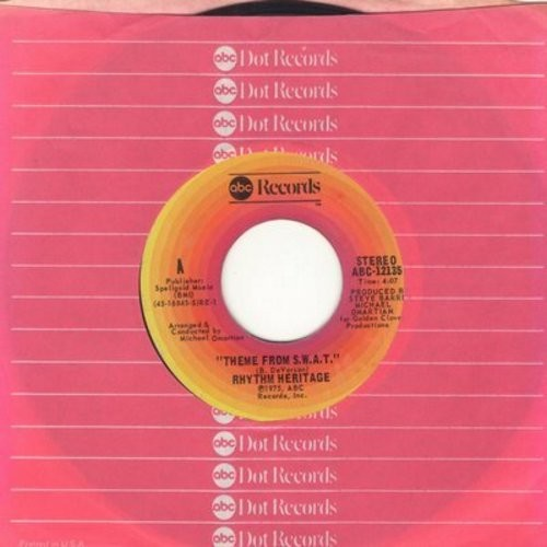 Rhythm Heritage - Theme From S.W.A.T./I Wouldn't Treat A Dog (The Way You Treated Me) (with ABC company sleeve) - VG7/ - 45 rpm Records