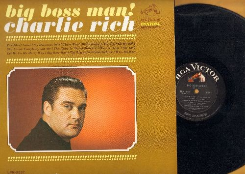 Rich, Charlie - Big Boss Man!: Twelfth Of Never, She Loved Everybody But Me, Nice 'N' Easy, The Ways Of A Woman In Love (vinyl MONO LP record) - NM9/NM9 - LP Records