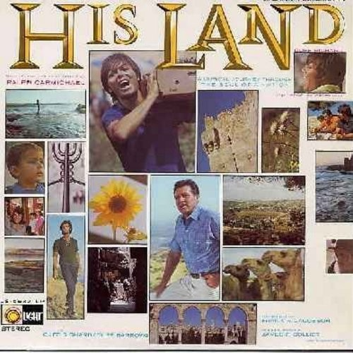 Richard, Cliff - His Land - Original Motion Picture Sound Track: Jerusalem Jerusalem, Hava Nagila, Keep Me Where Love Is, He's Everything To Me (Vinyl STEREO LP record, NICE condition!) - NM9/NM9 - LP Records