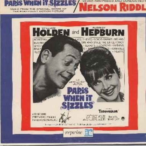 Riddle, Nelson - Paris When It Sizzles - Music Composed And Conducted By Nelson Riddle - Original Paramount Motion Picture Sound Score (Vinyl LP record) - NM9/EX8 - LP Records