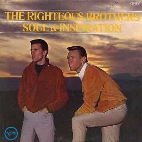 Righteous Brothers - Soul & Inspiration: He Will Break Your Heart, I'm Leaving It Up To You, In The Midnight Hour (Vinyl STEREO LP record) - NM9/VG7 - LP Records