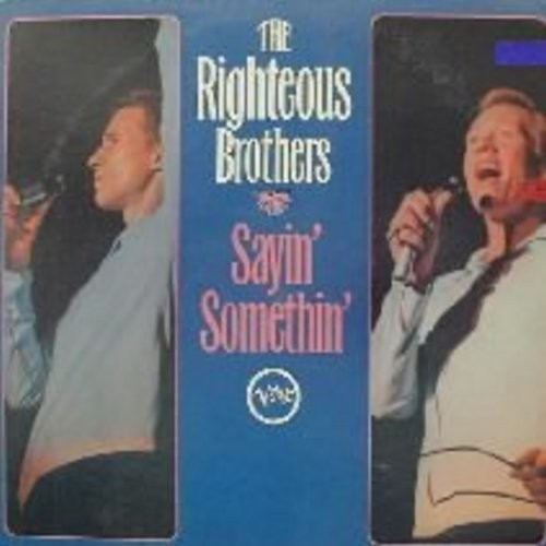 Righteous Brothers - Sayin' Somethin': Harlem Shuffle, I Who Have Nothing, Along Came Jones, My Girl (Vinyl STEREO LP record, DJ advance copy) - NM9/VG7 - LP Records