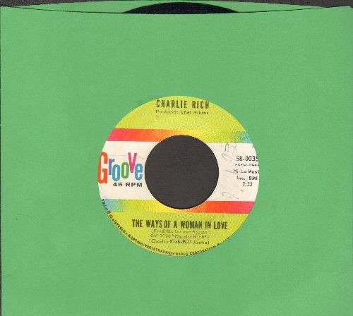 Rich, Charlie - The Ways Of A Woman In Love/My Mountain Dew - NM9/ - 45 rpm Records