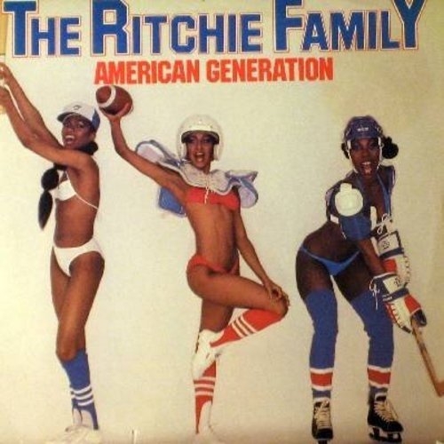 Ritchie Family - American Generation: Big Spender, Music Man, I Feel Disco Good, American Generation (Vinyl STEREO LP record) - NM9/EX8 - LP Records