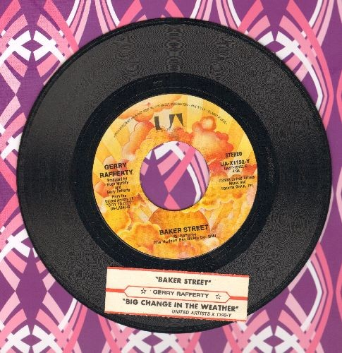 Rafferty, Gerry - Baker Street/Big Change In The Weather (with juke box label) - NM9/ - 45 rpm Records
