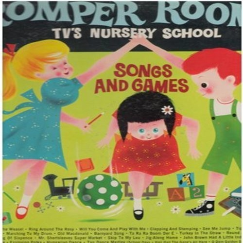 Romper Room Tv S Nursery School Songs And Featuring Your