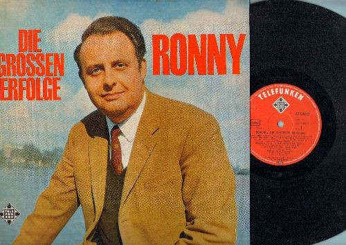 Ronny - Die Grossen Erfolge: Oh My Darling Caroline, Kleine Annabell, Kein Gold im Blue River, Wenn du einsam bist (Vinyl STEREO LP record, German Pressing, sung in German) - NM9/NM9 - LP Records