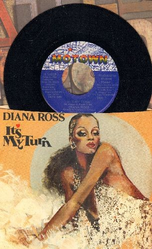 Ross, Diana - It's My Turn/Together (with picture sleeve) - NM9/EX8 - 45 rpm Records