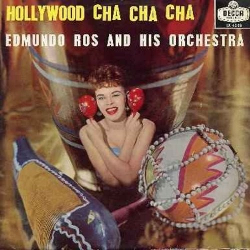 Ros, Edmondo & His Orchestra - Hollywood Cha Cha Cha - 1950s Hollywood Hit-Movie Themes set to a Cha Cha Cha Beat! Themes include Tammy, It's Magic, High Noon, True Love, Theme From Moulin Rouge, Love Is A Many-Splendored Thing, more! A wonderful collecti