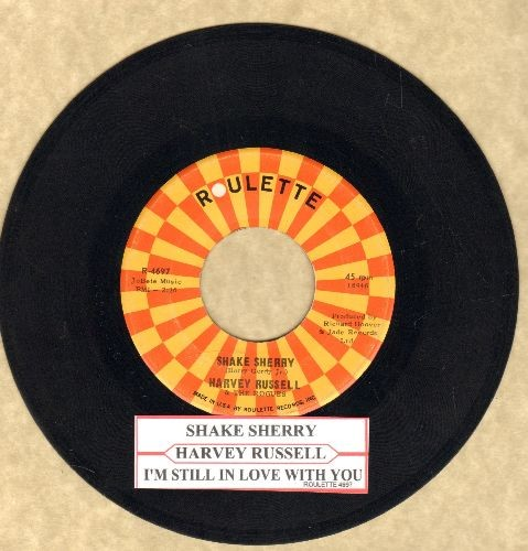 Russell, Harvey & The Rogues - Shake Sherry/I'm Still In Love With You (with juke box label) - EX8/ - 45 rpm Records