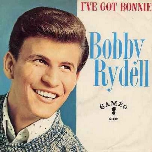 Rydell, Bobby - I've Got Bonnie/Lose Her (with picture sleeve) - NM9/VG7 - 45 rpm Records