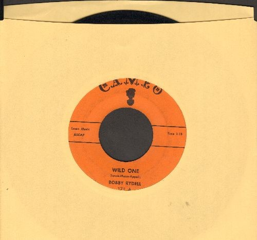 Rydell, Bobby - Wild One/Little Bitty Girl (orange label first issue) - EX8/ - 45 rpm Records