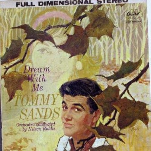 Sands, Tommy - Dream With Me: When I Fall In Love, A Boy And His Dreams, Lazy Afternoon, Dreamer's Holiday, Dreamsville (Vinyl STEREO LP record) - NM9/EX8 - LP Records