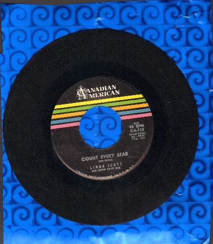 Scott, Linda - Count Every Star/Land Of Stars (NICE condition!) - NM9/ - 45 rpm Records