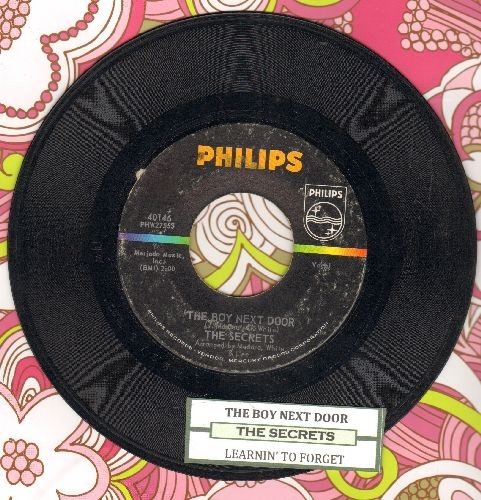 Secrets - The Boy Next Door/Learnin' To Forget (with juke box label) - EX8/ - 45 rpm Records