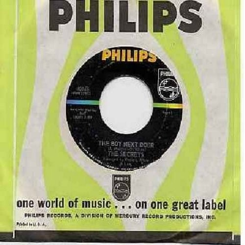 Secrets - The Boy Next Door/Learnin' To Forget (with Philips company sleeve)  - EX8/ - 45 rpm Records