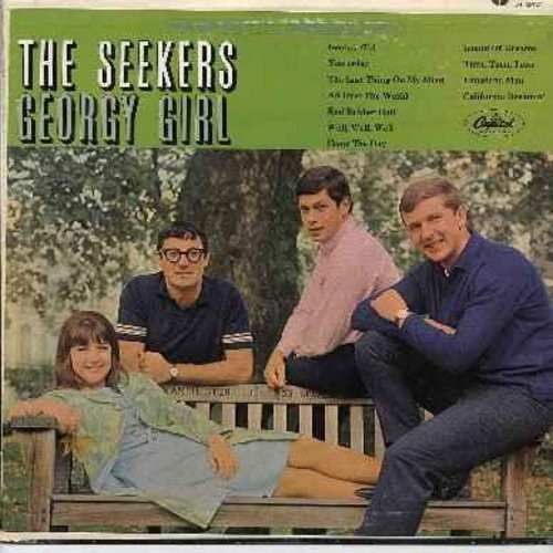 Seekers - Georgy Girl: Yesterday, Red Rubber Ball, California Dreamin', Island Of Dreams, The Last Thing On My Mind, All Over The World - VG7/VG6 - LP Records