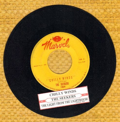 Seekers - Chilly Winds/The Light From The Lighthouse (with juke box label) - NM9/ - 45 rpm Records