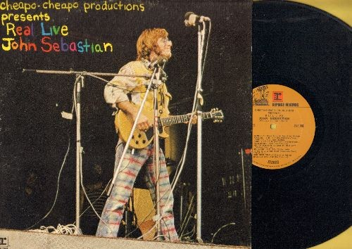 Sebastian, John - Real Live: Young Girl, Blue Swede Shoes, In The Still Of The Night, Nashville Cats, Goodnight Irene (vinyl STEREO LP record) - NM9/EX8 - LP Records