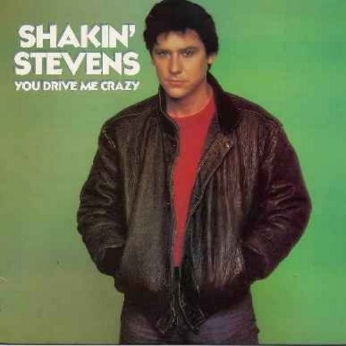 Stevens, Shakin' - You Drive Me Crazy: Green Door, This Ole House, Let Me Show You How, Hot Dog, It's Raining, Make It Right Tonight (Vinyl STEREO LP record) - M10/NM9 - LP Records