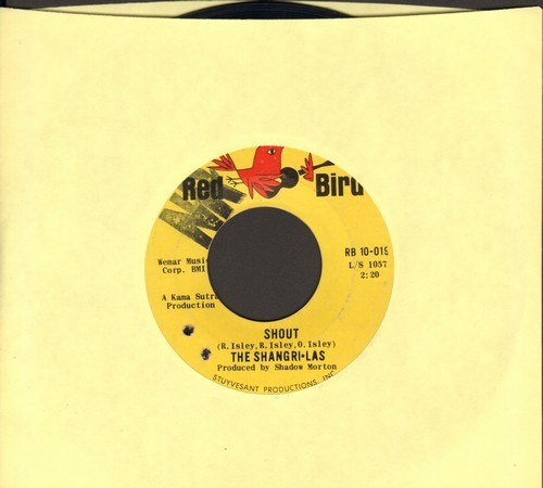 Shangri-Las - Shout/Maybe (bb, wol) - EX8/ - 45 rpm Records