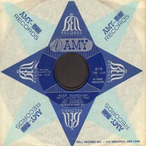 Shannon, Del - Keep Searchin'/Broken Promises (with Amy company sleeve) - NM9/ - 45 rpm Records