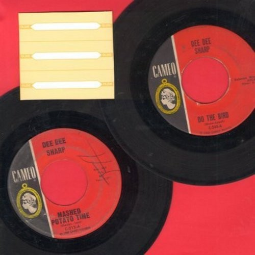 Sharp, Dee Dee - 2 for 1 Special: Mashed Potato Time/Do The Bird (2 vintage first issue 45rpm records for the price of 1!) - EX8/ - 45 rpm Records