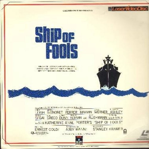 Ship Of Fools - Ship Of Fools - The 1964 Classic with International Star Cast, Vivian Leighs final film appearance! - THIS IS A SET OF 2 LASERDISCS, NOT ANY OTHER KIND OF MEDIA! - NM9/EX8 - LaserDiscs