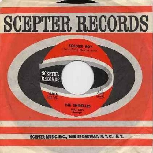 Shirelles - Soldier Boy/Love Is A Swingin' Thing (with Scepter company sleeve and juke box label) - EX8/ - 45 rpm Records
